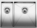 ZEROX 340/180-IF(чаша слева) нерж. сталь зеркальная полировка