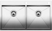 ZEROX 400/400-IF/А нерж. сталь зеркальная полировка с клапаном-а