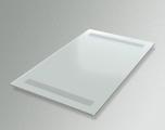 Доска выдвижная белое матовое стекло