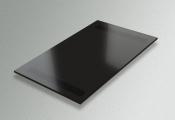 Доска выдвижная черное матовое стекло
