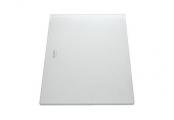 Разделочная доска белое матовое стекло 420х240 мм